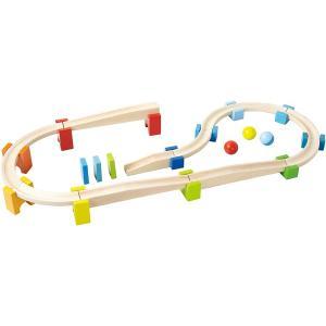 HABA ハバ社 木のおもちゃ ドイツ製 ベビークーゲルバーン・大 木製玩具 知育玩具 スロープトイ スロープおもちゃ 1歳 2歳 3歳 誕生日 プレゼント|grande0606