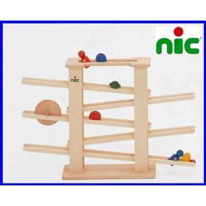 ニック nic NICスロープ ニックスロープ 【木のおもちゃ 木製 知育玩具 出産祝い 誕生日 スロープ ニック ニックスロープ 赤ちゃん ベビー 0歳】|grande0606