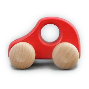 ケラー社 PKW赤 keller 木のおもちゃ 車 木製 玩具 出産祝い|grande0606