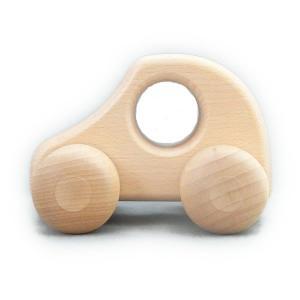ケラー社 PKW白 keller 木のおもちゃ 車 木製 玩具 出産祝い|grande0606