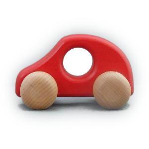 ケラー社 ミニPKW赤 keller 木のおもちゃ 車 木製 玩具 出産祝い|grande0606