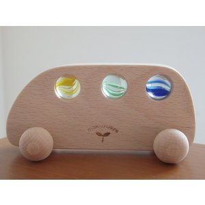 日本製【木遊舎(日本)】くるま・ファミリー (1才から) (お誕生日 1歳 男(男の子)/お誕生日 1歳 女(女の子)/木のおもちゃ/車/木製玩具/出産祝い/知育玩具)|grande0606