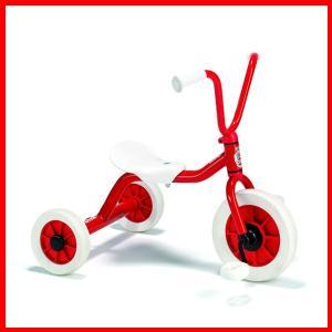 ボーネルンド ウィンザー社 ペリカン三輪車VハンドルS 赤 【乗用玩具】 1歳誕生日 ギフト grande0606