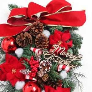 クリスマスリース クリスマススワッグ 玄関飾り...の詳細画像1