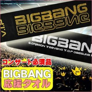 【ネコポス】【国内発送】ビッグバン (BIGBANG) 応援タオル コンサート用 スローガン|grandpark