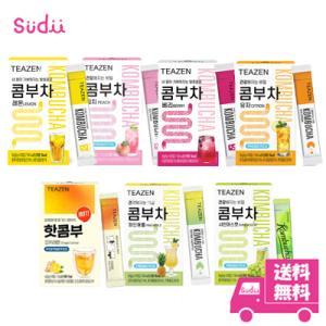 【選べる3個】 送料無料 [TEAZEN] (ティーゼン) コンブ茶 (コンブチャ) 韓国 コンブチャ 10包 x 3箱 BTS ジョングク お茶 レモン茶 韓国食品 健康飲料|grandpark