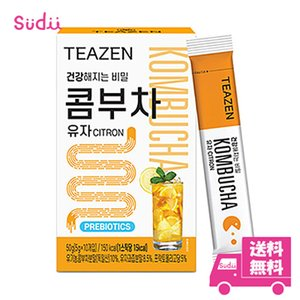 【1個】★送料無料★ [TEAZEN] (ティーゼン) コンブ茶 (コンブチャ) 韓国 ベリー 5g 10包 x 1箱 韓国飲料 BTS ジョングク お茶 韓国食品 健康飲料 粉末|grandpark