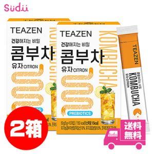 【2個】★送料無料★ [TEAZEN] (ティーゼン) コンブ茶 (コンブチャ) 韓国 ベリー 5g 10包 x 2箱 韓国飲料 BTS ジョングク お茶 韓国食品 健康飲料 粉末|grandpark