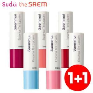 ザセム セムムル エッセンシャル ティント リップバーム Saemmul Essential Tint Lipbalm 4g 全6色 韓国コスメ|grandpark