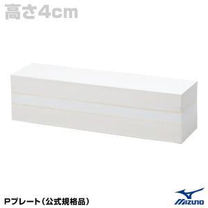 ミズノ(MIZUNO) 16JAP14400 Pプレート(公式規格品) 高さ4cm 野球用品グランドスラム