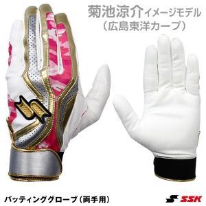 広島東洋カープの菊池涼介選手が2019年シーズンに使用するバッティング手袋をイメージしたモデル。グラ...