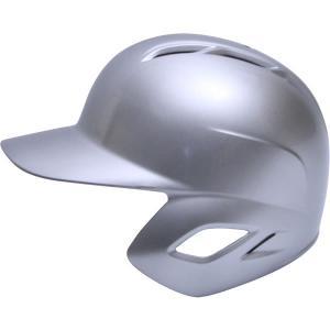 <受注生産>ゼット(ZETT) BHL307 軟式打者用ヘルメット(片耳用) ガンメタリック カラーオーダー|grandslam|07