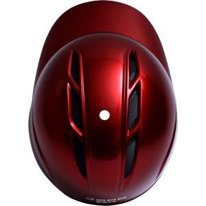 <受注生産>ゼット(ZETT) BHL307 軟式打者用ヘルメット(片耳用) ガンメタリック カラーオーダー|grandslam|10