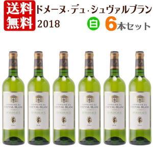 【送料無料】ドメーヌ デュ シュヴァルブラン 2016 白 6本セット[wineday]
