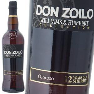 ウィリアム ハンバート ドン ゾイロ オロロソ 19% 750ml シェリー酒