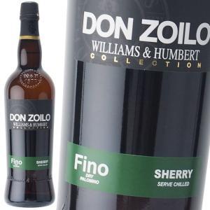 ウィリアム ハンバート ドン ゾイロ コレクション フィノ 【正規】 15% 750ml シェリー酒
