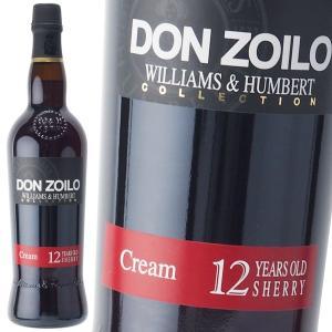 ウィリアム ハンバート ドン ゾイロ クリーム  19% 750ml シェリー酒