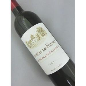 赤ワイン 2012年 シャトー ド フォンベル 750ml フランス ボルドー