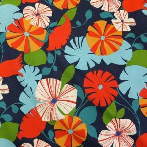 【メール便OK】【50cm以上10cm単位】【USAコットン 生地 布】bisou blossom|granny