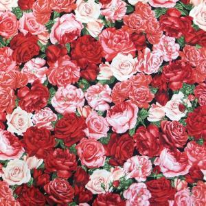 PACKED ROSES (USAコットン 生地 布)|granny