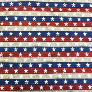 STARS AND STRIPES (USAコットン 生地 布)|granny