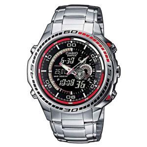 カシオ エディフィス CASIO EDIFICE アナデジ 腕時計 EFA-121D-1AVEF チプカシ 10気圧防水 メンズ 腕時計 クリスマス プレゼント|grans