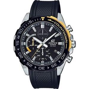 CASIO カシオ 腕時計 EDIFICE エディフィス EFR-566PB-1A ブラック×イエロー ウレタンベルト メンズ 腕時計 並行輸入品 プレゼント 誕生日|grans
