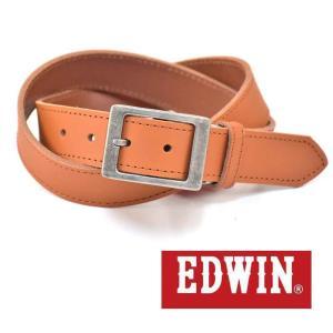大特価EDWINエドウィン本革ベルトブラウン018143牛革メンズベルト男性用ベルトレディースベルト女性用ベルト|grans