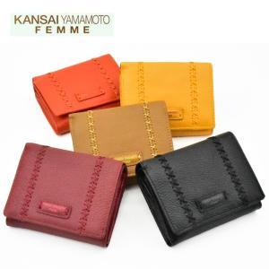 KANSAIYAMAMOTO ヤマモトカンサイ 二つ折り財布 MJ4502 短財布 全5色 正規品 山本寛斎|grans