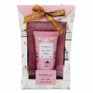 FIORELLO ハンドケアセット ローズ&ピオニーの香り 日本グランドシャンパーニュ プレゼント ギフト ハンドクリーム|grans