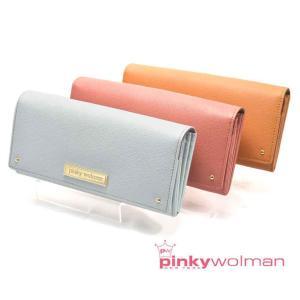 レディース 財布 長財布 かわいい おしゃれ ピンキーウォルマン pinkywolman スイートシリーズ SWEET8403 2全3色 クリスマス プレゼント|grans