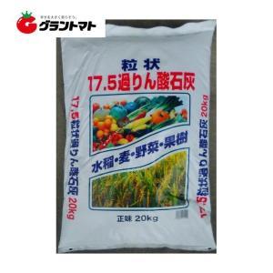 過リン酸石灰 粒状 20kg 単肥 リン酸17.5%【取寄商品】|grantomato
