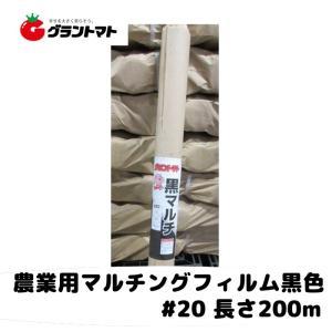 黒マルチ 厚さ#20X幅135cmX長さ200m 国産農業用マルチフィルム|grantomato