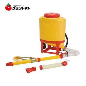 さんすけ OB-24 背負式肥料散布機 車輪付きタイプ 向井工業 【取寄商品】|grantomato
