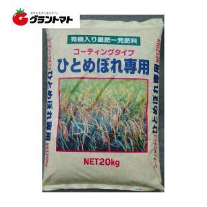ひとめぼれ専用肥料 505 20kg コーティングタイプ 有機入り基肥一発肥料 15-20-15【取寄商品】|grantomato