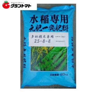 多収穫米専用肥料 588 20kg 元肥一発肥料 化成 25-8-8【取寄商品】|grantomato