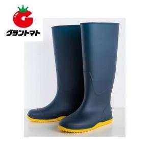 のらコンビニブーツ ネイビー L(25.5〜26.5cm) ユニワールド grantomato