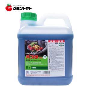 バスタ液剤 5L 農園芸にもおすすめな茎葉浸透除草剤 農薬 BASF