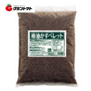 椿油かすペレット 1.4-0.4-1.28 3kg 土壌活性肥料 ドリーム【椿油粕 天然サポニン粕】|grantomato
