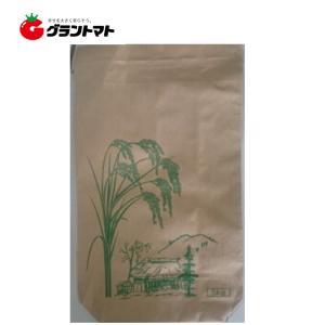 米袋 新袋稲穂印刷 5kg 2重構造の紙袋|grantomato