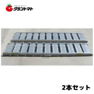 アルミブリッジ 2本セット 1800mm×300mm 最大積載0.5t 180cm長 有効幅30cm シンセイ|grantomato