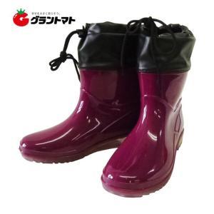 婦人PVCお手軽ブーツ ワイン LL(25.0~25.5cm) (WINE SS-0189) シンセイ grantomato
