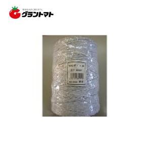 電柵ロープ 500m 白 防獣用電気柵 シンセイ|grantomato