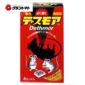 強力デスモア(固型) 30g×4個入 置くだけの殺鼠剤 アース製薬 【ネズミ駆除】 grantomato