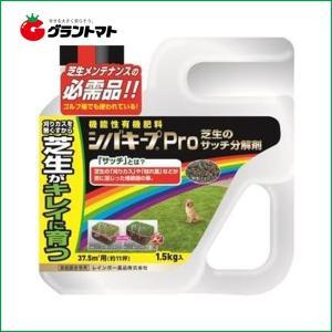 シバキープPro芝生のサッチ分解剤 1.5kg 芝生用肥料 レインボー薬品 【取寄商品】|grantomato