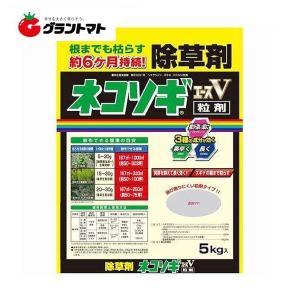 ネコソギエースV粒剤 5kg 長期間雑草を生やさない粒状除草剤 非農耕地用 レインボー薬品|grantomato