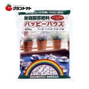 ハッピーハウス 600g においにくい家庭用肥料 レインボー薬品|grantomato