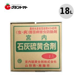 石灰硫黄合剤 18L 樹木の殺虫殺菌剤 農薬 宮内硫黄合剤 grantomato