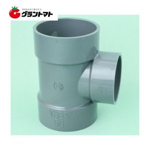 VU継手 異径チーズ 75mm×50mm 塩ビ関連 東栄管機|grantomato
