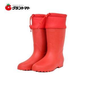軽量長靴 カルックス 婦人用 レッド LA400 23.0cm アトム grantomato